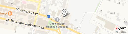 ТРИУМП БИРИНГ на карте Звенигорода