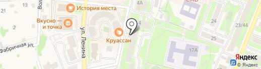 Секонд-хенд на карте Истры