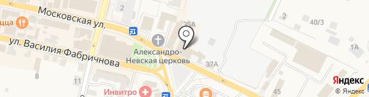 Магазин мясной продукции на карте Звенигорода