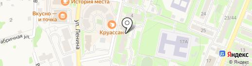Веснушка на карте Истры