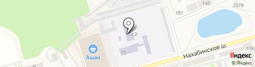 Красногорский колледж на карте Звенигорода