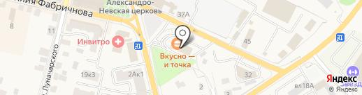 СерафимаТур на карте Звенигорода