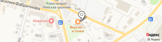 ФормаТ на карте Звенигорода