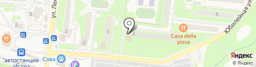 Нэя на карте Истры