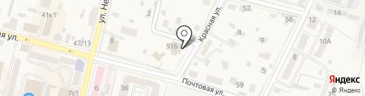 Звенигородский городской суд на карте Звенигорода