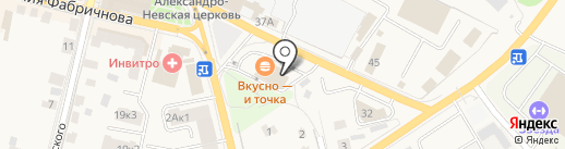 Любимчик на карте Звенигорода