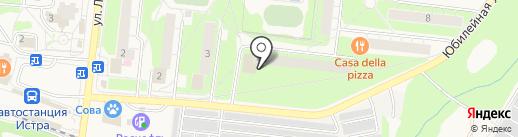Кудесница на карте Истры