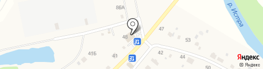 Пятерочка на карте Вельяминово