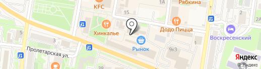 Магазин молочной продукции на карте Истры