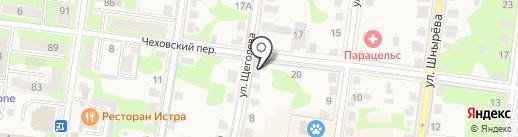 Зооклондайк на карте Истры