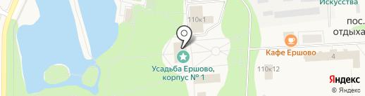 Ершово на карте Ершово