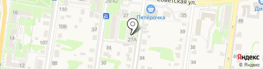 Школа бокса им В.П. Агеева на карте Истры