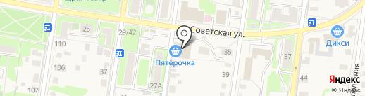 ОКНА РОСТА на карте Истры