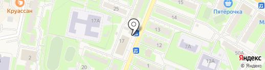 Суши Wok на карте Истры