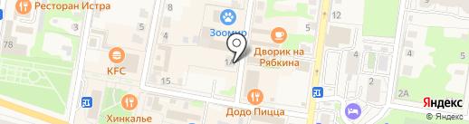 Saval` на карте Истры