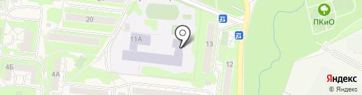 Средняя общеобразовательная школа №2 на карте Истры
