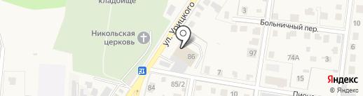 Магазин фастфудной продукции на карте Истры