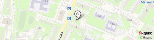 Флюг-райзен сервис на карте Истры