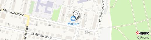Лотос на карте Звенигорода