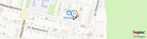 Алёна на карте Звенигорода