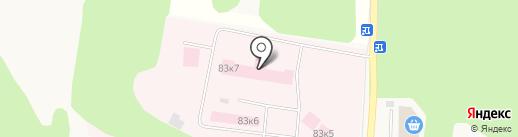 Истринская районная больница на карте Истры