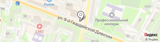 Платежный терминал, Московский кредитный банк, ПАО на карте Истры