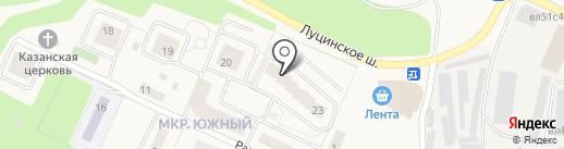 Уют на карте Звенигорода