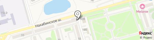 маспул на карте Звенигорода
