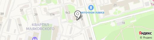 Одинцовский комплексный центр социального обслуживания населения на карте Звенигорода