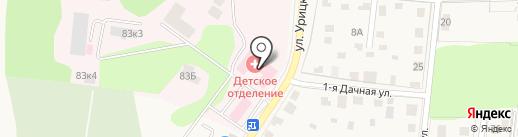 Истринская районная клиническая больница, ГБУЗ на карте Истры