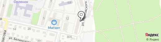 Продуктовый магазин на карте Звенигорода