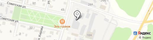 Хлебница-Звенигород на карте Звенигорода