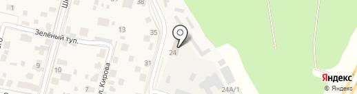 Антарес на карте Звенигорода