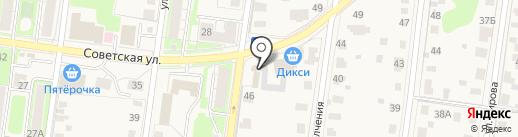 Хмельная пинта на карте Истры