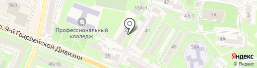 Управление опеки и попечительства на карте Истры