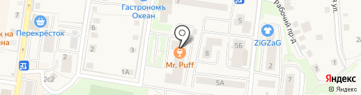 Питер Пен на карте Истры