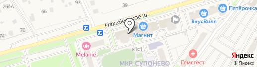 Здоровье на карте Звенигорода