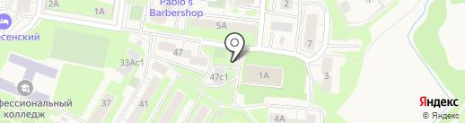 ИСТРА-ГОРОД на карте Истры