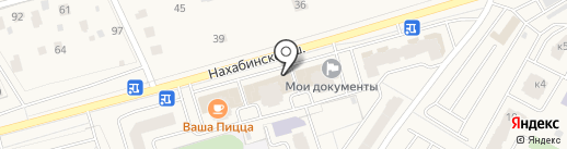 Аврора на карте Звенигорода