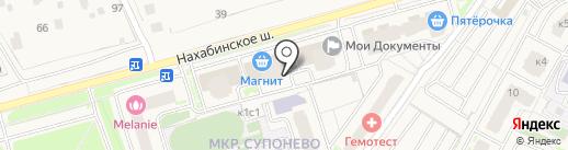 Студия Современной Мебели на карте Звенигорода