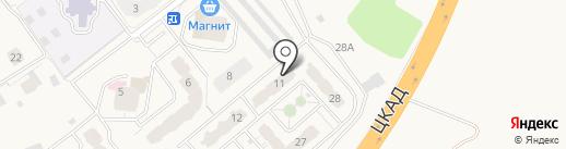 СУ-155 на карте Звенигорода