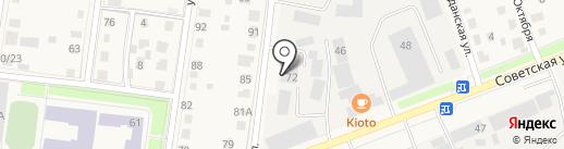 Аварийно-диспетчерский участок на карте Истры