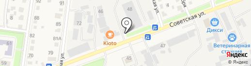 Истринский центр спортивных единоборств, НП на карте Истры