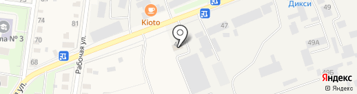 Aradex на карте Истры