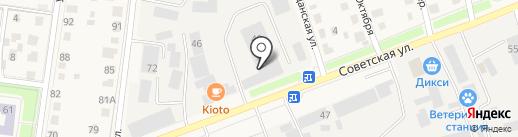 ТрансМан на карте Истры
