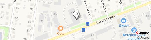 Истринский центр спортивных единоборств на карте Истры