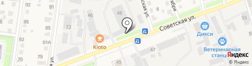 Служба Коммунального Сервиса на карте Истры