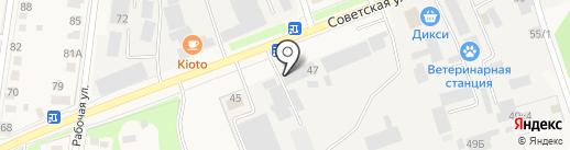 ПСО-СМ на карте Истры