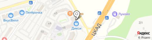 ВИТРУМ на карте Звенигорода