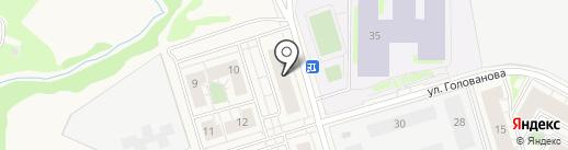 Тимоша на карте Истры